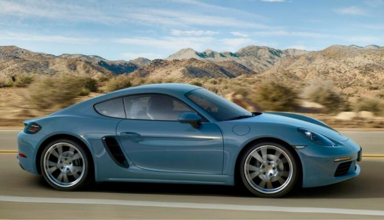 Cayman 718S from Porsche