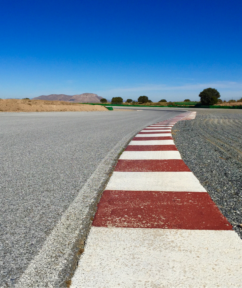Sunny Track at Guadix Circuit Spain