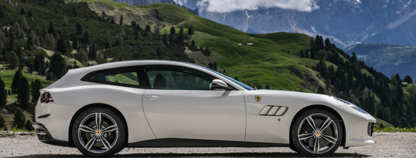 The GT4 Lusso from Ferrari